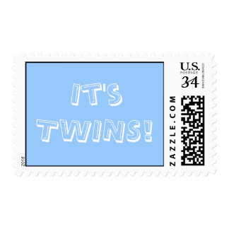 0 29 cent Baby Boy Twins Stamp