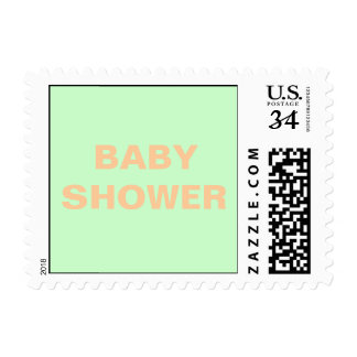 0 29 cent Baby Shower Postage