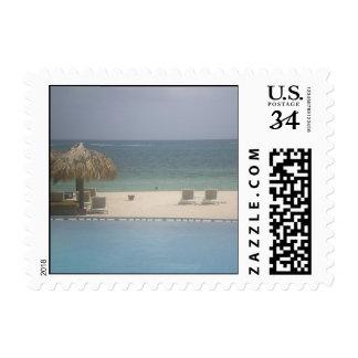 0 29 cent Beach Ocean Postage