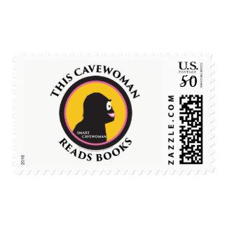$0.49 Medium Postage Stamps Read Smart Cavewoman