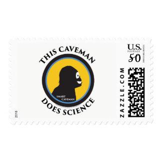 $0.49 Medium Postage Stamps Science Smart Caveman