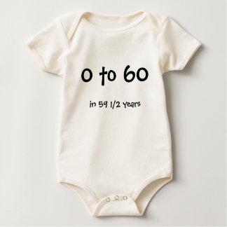 0 - 60 BABY BODYSUIT