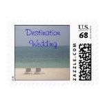 $0.65 cent Destination Wedding Beach Ocean Postage