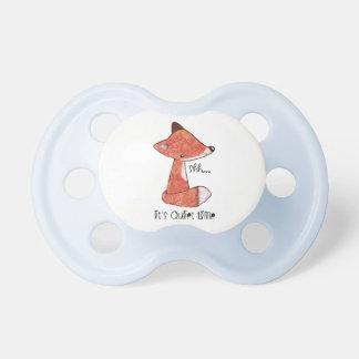 0-6 meses de pacificador con imagen del zorro chupetes de bebé