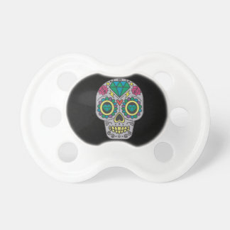 0-6 months BooginHead® baby Pacifier sugar skull