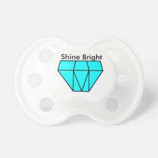 0-6 months Diamond BooginHead® Pacifier