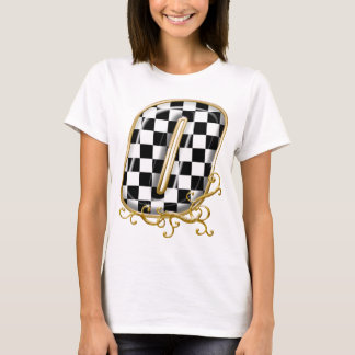 0 auto racing number T-Shirt