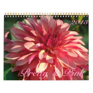 0 bonitos y rosas 2013 calendarios de pared