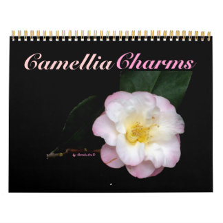 0 Camellia Charms 2013 2014 Wall Calendars