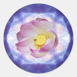 0 cristales lotus.jpg pegatina redonda