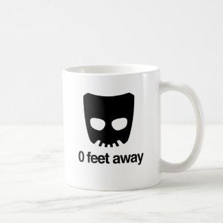 0 FEET AWAY CLASSIC WHITE COFFEE MUG