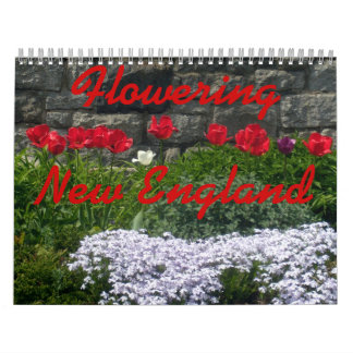 0 Flowering New England 2013 Calendars