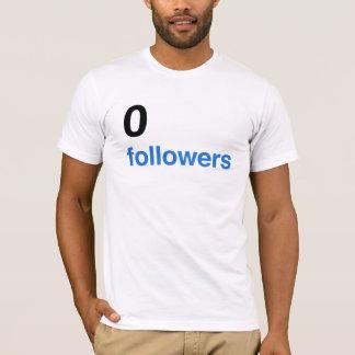 0 followers - BK T-Shirt