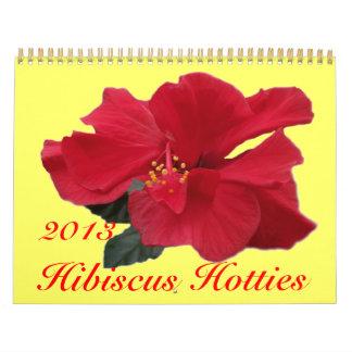 0 Hibiscus Hotties 2013 Calendar