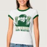 0% Irish, 100% Wasted T-shirt
