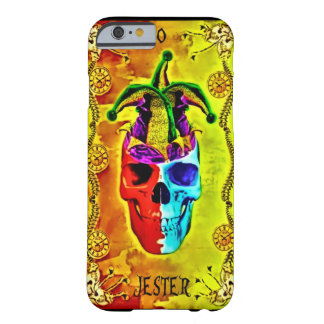 0 Jester Card Death Clock Tarot Barely There iPhone 6 Case