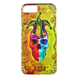 0 Jester Card Death Clock Tarot iPhone 8/7 Case