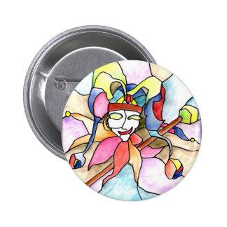 0 - Jester Pinback Button
