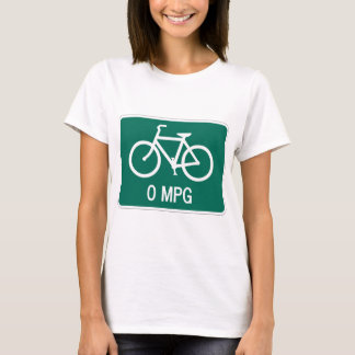 0 MPG Ladies Baby Doll (Fitted) T-Shirt