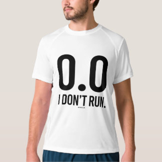 0 - No corro - .png Playera
