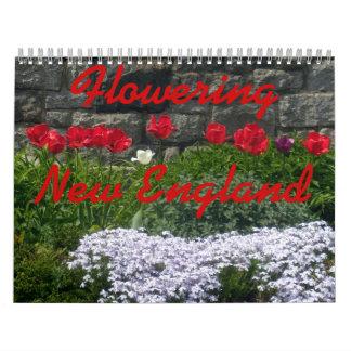 0 Nueva Inglaterra de florecimiento 2013 Calendario