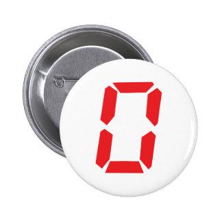 0 red alarm clock number digital zero button