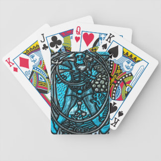 """""""0 The Fool """""""" Tarot"""" """"Bred Meli """" Bicycle Playing Cards"""