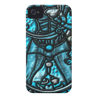 """0 The Fool """" Tarot"" ""Bred Meli "" Case-Mate iPhone 4 Cases"