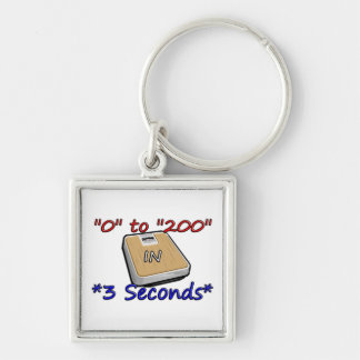 """0"" to ""200"" in *3 Seconds* Keychain"