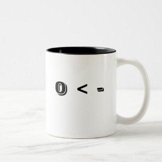 0 < - Two-Tone COFFEE MUG