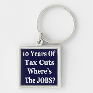 !0 Years of The Bush Tax Cuts for the Wealthy Keychain