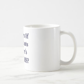 !0 Years of The Bush Tax Cuts for the Wealthy Classic White Coffee Mug