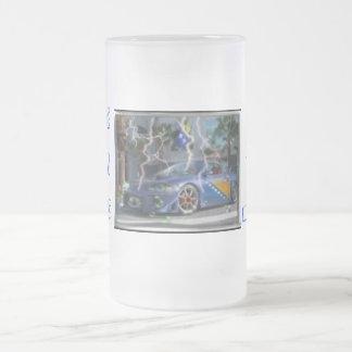 0mmm, JA SAM, BOSANAC, Jebi Se, 5o%, BOSANAC, 5... 16 Oz Frosted Glass Beer Mug
