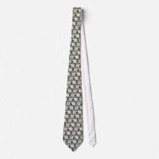 10000 Dollar Bill Neck Tie