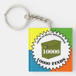 10000 Finds Milestone Keychain