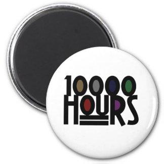 10000 HOURS 2 INCH ROUND MAGNET