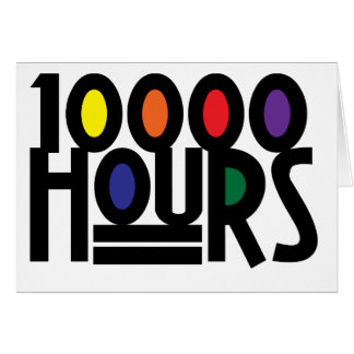 10000 HOURS CARD