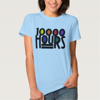 10000 HOURS T SHIRT