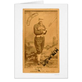 $10000 King Kelly Baseball 1887 Card