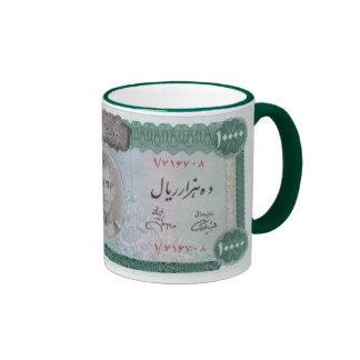 10000 Rials Ringer Coffee Mug