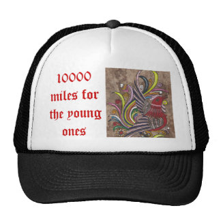 10000mfyo 10000 miles for the young ones trucker hat