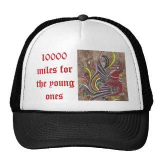 10000mfyo 10000 millas para las jovenes gorras de camionero
