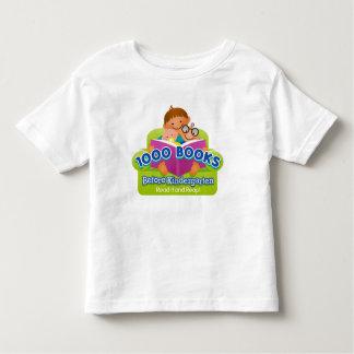 1000 Books Before Kindergarten Shirt