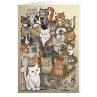 1000 cats card