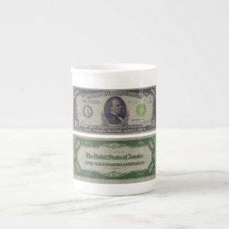 1000 Dollar Federal Reserve Note from 1934 Porcelain Mug