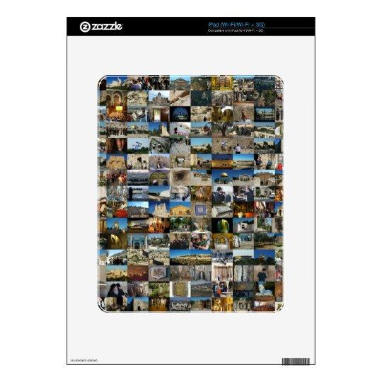 1000 Faces of Jerusalem Mosaic iPad Decal