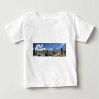 1000 Island Lake and Banner Peak - John Muir Trail Baby T-Shirt