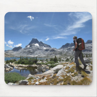 1000 Island Lake and Banner Peak - John Muir Trail Mouse Pad