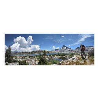 1000 Island Lake and Banner Peak - John Muir Trail Photo Print