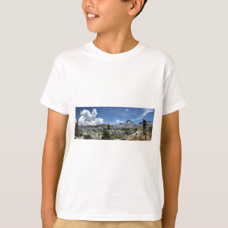 1000 Island Lake and Banner Peak - John Muir Trail T-Shirt